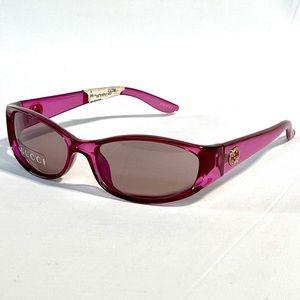 NWT Rare Fuchsia GUCCI Sunglasses GG 2566/S PQ1